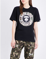 Aape Stamp cotton-jersey T-shirt