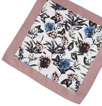 Ted Baker Bray Floral Print Pocket Square