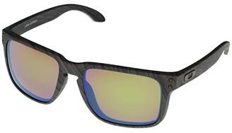 Oakley Holbrook XL (Woodgrain/Prizm Shallow Water Polarized) Athletic Performance Sport Sunglasses