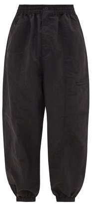 Y-3 Y 3 Wide-leg Technical-blend Track Pants - Mens - Black