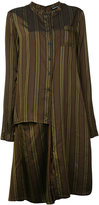 Rundholz - striped shirt dress - women - Cupro - S