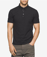 Calvin Klein Men's Textured Polo