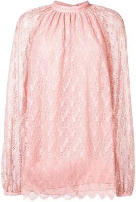 Giamba Lace Longsleeved Blouse