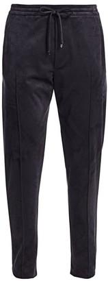 Giorgio Armani Velvet Jogging Trousers