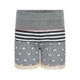 Ikks IKKSBaby Girls Black & White Shorts