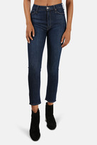 Mother The Dazzler Straight Jeans