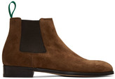Paul Smith Brown Crown Chelsea Boots