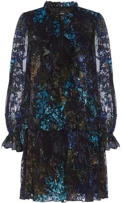 Nissa Printed Viscose Dress