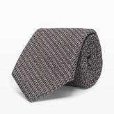 Club Monaco Wool-Diamond Weave Tie