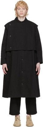 Toogood Black The Conductor Coat