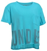 Under Armour Girls' Cropped Performance Tee - Big Kid
