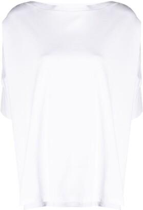 Stefano Mortari button-detail cotton T-shirt