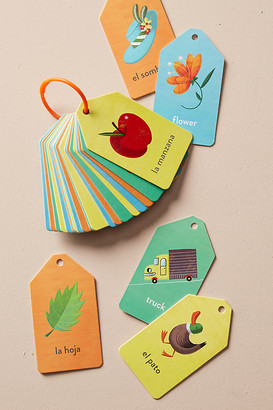 Anthropologie First Vocabulary Stroller Cards By in Green