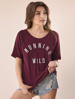 Signorelli Running Wild Tee in Oxblood