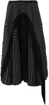 Antonio Marras pleated skirt - women - Polyester/Viscose - 42