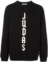 Givenchy Cuban-fit Judas slogan sweatshirt - men - Cotton - L