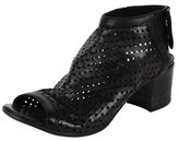 Lemaré Perforated Slingback Bootie.