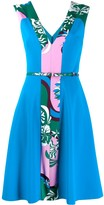 Emilio Pucci Printed Flared Dress