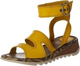 Fly London Women's Tily 722Fly High Ankle Strap Wedge Leather Sandal