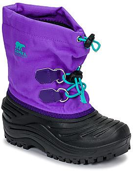 Sorel CHILDRENS SUPER TROOPER girls's Snow boots in Black