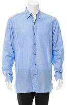 Ermenegildo Zegna Woven Button-Up Shirt