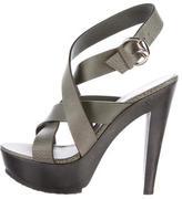 Gucci Multistrap Platform Sandals