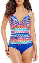 Jantzen Farah C-D Empire Tank Tummy Control One-Piece