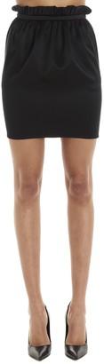 Versace Elasticated Waist Mini Skirt