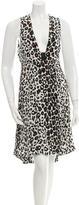 A.L.C. Silk Knee-Length Dress