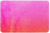 "KESS InHouse ""Monika Strigel Fruit Punch Magenta Orange"" Memory Foam Bath Mat"