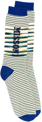 Missoni Striped Logo Socks