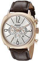 Ingersoll Men's IN2818RSL Cooper Analog Display Automatic Self Wind Brown Watch