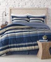 Sunham Austin 6-Piece Blue Twin XL Bedding Ensemble