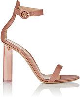 Gianvito Rossi Women's Portofino Ankle-Strap Sandals-PINK