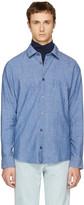 A.P.C. Indigo winter 87 Shirt