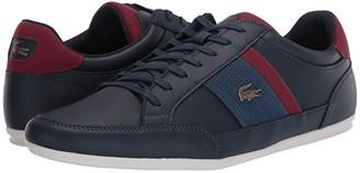 Lacoste Chaymon 120 4 (Navy/Dark Red) Men's Shoes