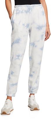 Spiritual Gangster Laguna Tie-Dye French Terry Sweatpants