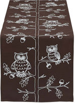 DESIGN IMPORTS Design Imports Embroidered Owl Table Runner