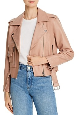 Joie Ondra Leather Moto Jacket