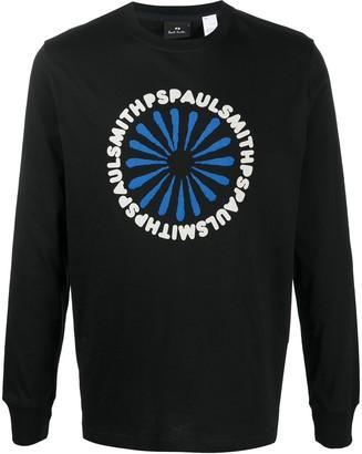 Paul Smith logo-print organic cotton T-shirt