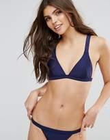 MinkPink Fixed Triangle Bikini Top