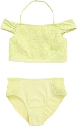 Habitual Smocked Two-Piece Swimsuit