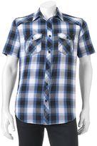 Helix Men's HelixTM Plaid Button-Down Shirt