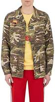 Andersson Bell Men's Camouflage Cotton Appliquéd Field Jacket