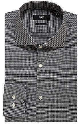 Boss Black Regular-Fit Spread-Collar Dress Shirt
