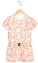 Chloé Girls' Floral Print Belted Dress w/ Tags