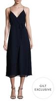 Lucca Couture Midi Wrap Dress