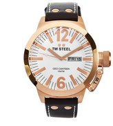 TW Steel Men's CE1018 CEO Canteen Brown Leather Dial Watch