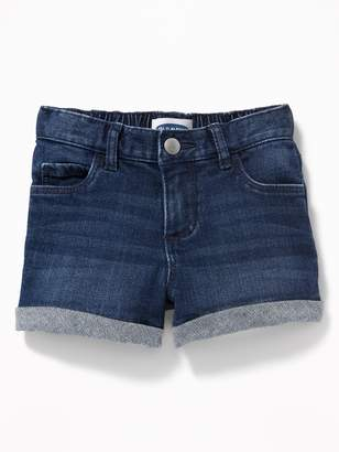Old Navy Cuffed Jean Shorts for Toddler Girls