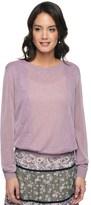 Juicy Couture Lace Applique Pullover